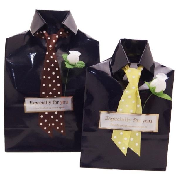 気持ちを伝えるラッピング シャツ タイのラッピング 贈り物に スーツアクセサリー専門店 プチギフト 誕生日 数量は多 メーカー公式 おしゃれ カフスマニア プレゼント