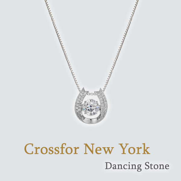 Crossfor New York Dancing Stone (NYP-611)クロスフォーニューヨーク ダンシング ストーン ペンダント 送料無料