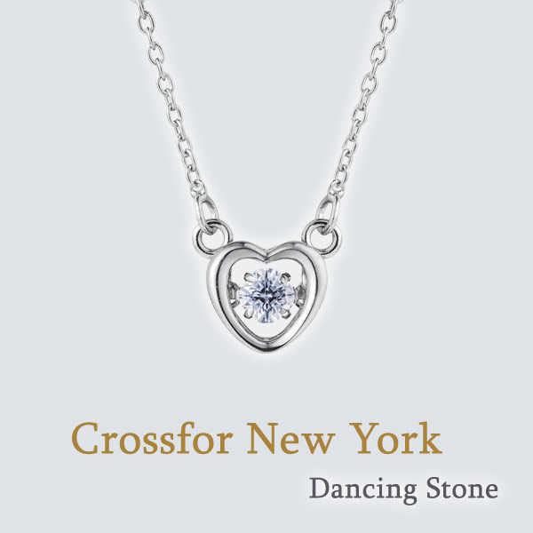 Crossfor New York Dancing Stone (NYP-616)クロスフォーニューヨーク ダンシング ストーン ペンダント 送料無料