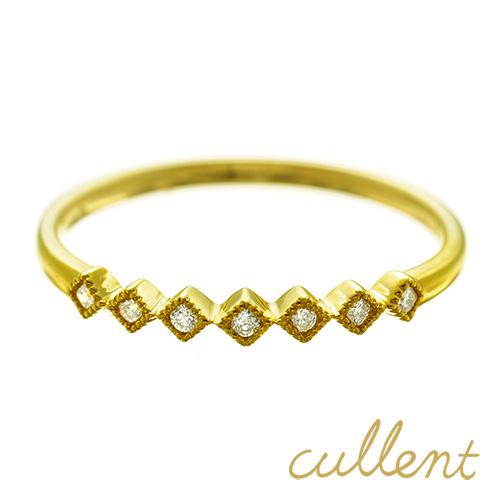 生まれのブランドで K18 ダイヤモンドリング seven twinkle リング K18 K18 リング 18金 18k 指輪 ゴールド ダイヤモンド ダイヤ レディース ジュエリー アクセサリー おしゃれ 指輪 ピンクゴールド, 久米郡:9dcf7caf --- priunil.ru