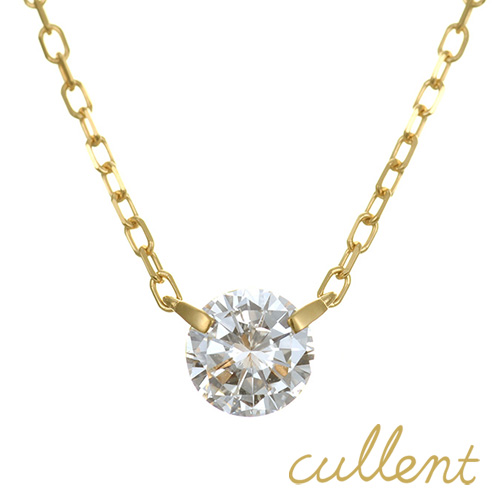 ダイヤモンド ネックレス K18 innocent 0.3ct  ネックレス K18 18金 18k ゴールド ダイヤモンド ダイヤ レディース 1粒ダイヤモンド ジュエリー アクセサリー ピンクゴールド