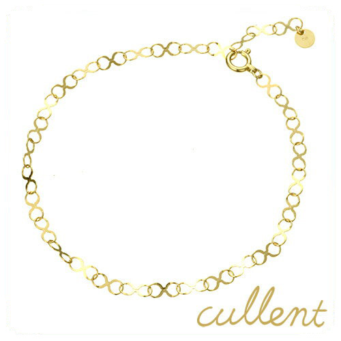 c91fc23acbc34c cullent: K18 bracelet infinity bracelet 18-karat gold 18k gold metal chain  Lady's jewelry accessories Shin pull delicateness | Rakuten Global Market