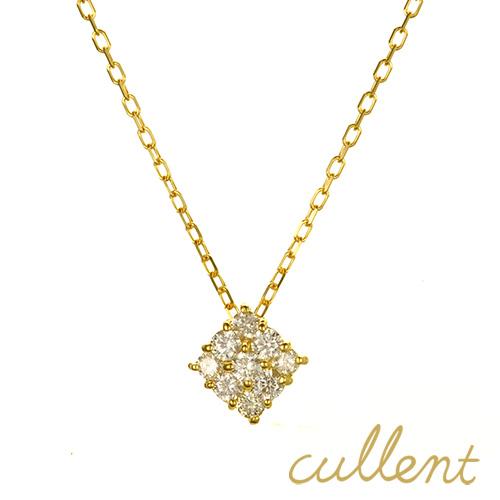 ダイヤモンド ネックレス K18 proud ネックレス K18 18金 18k ゴールド ダイヤモンド ダイヤ レディース  ジュエリー アクセサリー シンプル 星 ピンクゴールド