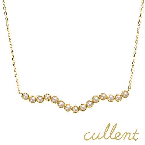 淡水パール ネックレス K18 serenade ネックレス K18 18金 18k ゴールド 淡水パール レディース 真珠 淡水真珠 ピンクゴールド