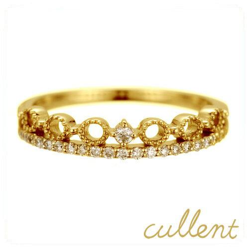 贅沢品 K18ダイヤモンドリング awake リング K18 18金 18k ゴールド ダイヤモンド ダイヤ 指輪 レディース ジュエリー アクセサリー おしゃれ シンプル, ヨッカイチシ e7ac4707