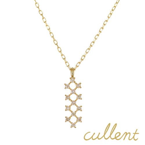 ダイヤモンドネックレス K18 joint ネックレス K18 18金 18k ゴールド ダイヤモンド ダイヤ ペンダント レディース  ジュエリー アクセサリー おしゃれ