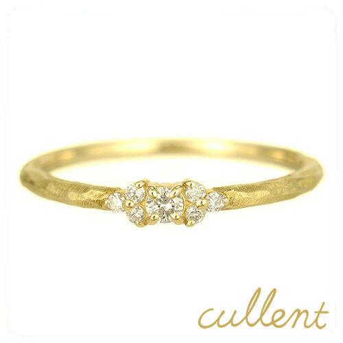 K18ダイヤモンドリング shimmer リング 指輪 K18 18金 18k ゴールド ダイヤモンド ピンクゴールド ホワイトゴールド