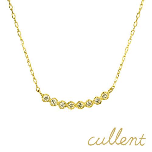k18ダイヤモンド ライン ネックレス gentline ネックレス K18 18金 18k ゴールド ダイヤモンド ダイヤ ペンダント レディース ジュエリー アクセサリー イエローゴールド ピンクゴールド