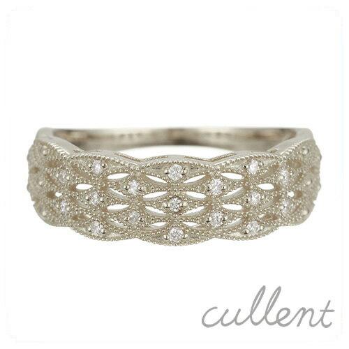 Pt900 ダイヤモンドリング molding lace リング Pt900 プラチナ ダイヤモンド 指輪 レディース  ジュエリー アクセサリー