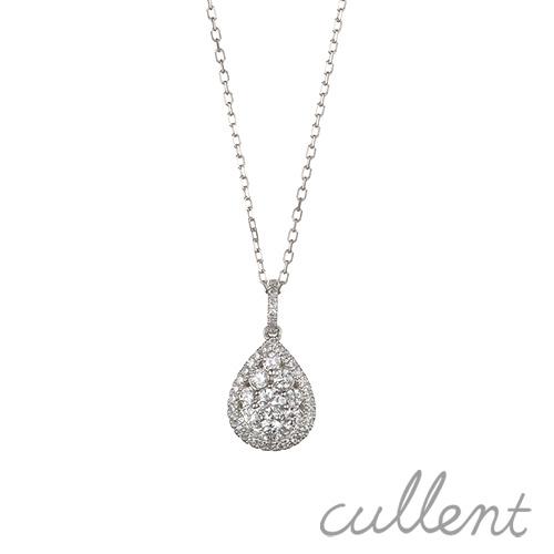 プラチナダイヤモンドネックレス etoile ネックレス ペンダント ダイヤモンド プラチナ Pt900 ドロップ シンプル レディース ジュエリー アクセサリー おしゃれ