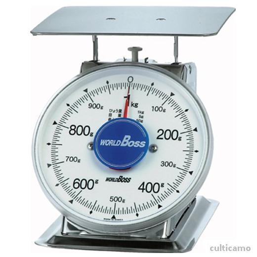 ワールドボス さびないステンレス上皿秤 SA-1S 1kg BHK-88[関連:WORLDBOSS 業務用 ステンレス製 計量器 上皿式 針はかり 鮮魚 野菜 精肉 ハカリ 秤]