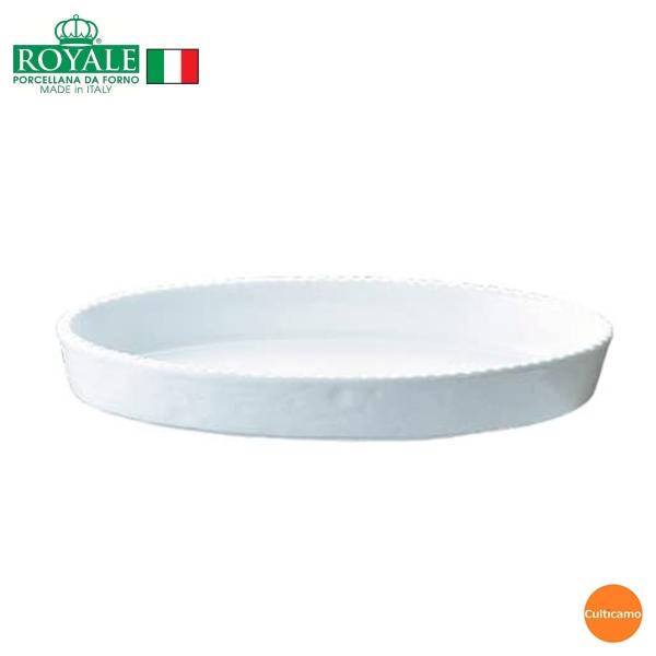 イタリアの陽気な食文化が生んだオーブンウェアーの逸品 ロイヤル 小判グラタン皿 ホワイト PB200-48 48cm 正規品スーパーSALE×店内全品キャンペーン RLI-20 関連:ROYALE 電子レンジ対応 業務用 耐熱磁器 イタリア 食器 ブランド 日本産 オーブン オーブンウェア