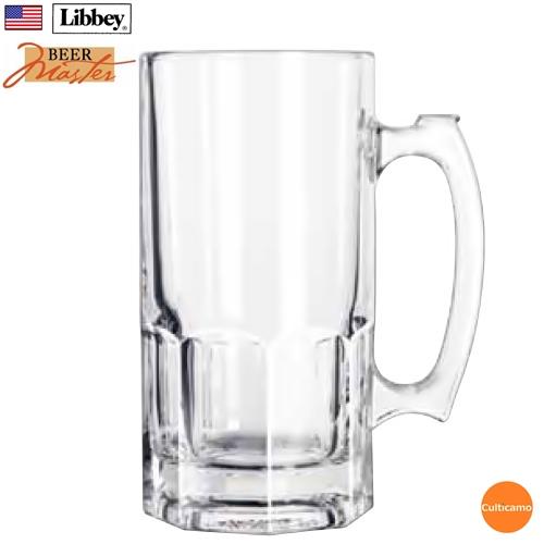 リビー ジブラルタル スーパーマグ No.5262 998cc 6ケ入 RLB-FY[関連:Libbey アメリカ 業務用 ビールマスター ガラス ビアジョッキ ビールジョッキ マグカップ]
