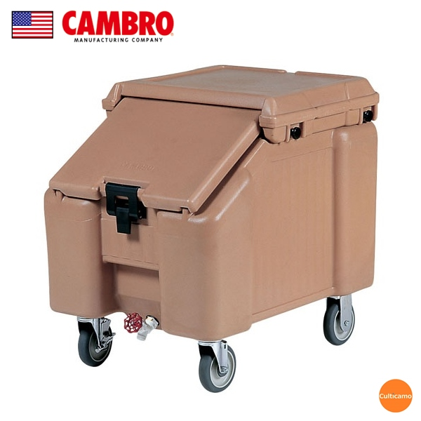 キャンブロ スラントトップ アイスキャディ ICS100L コーヒーベージュ FAI-C2【送料無料】[関連:CAMBRO アメリカ 業務用 氷 大容量 保冷ボックス コンテナー]
