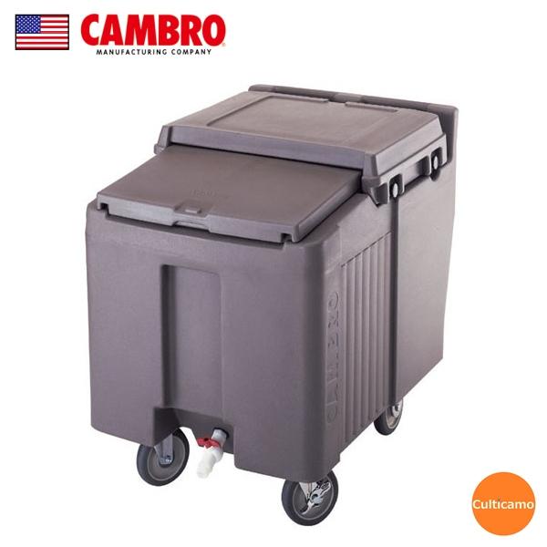 キャンブロ アイスキャディ ICS125L ダークブラウン MAI-03[関連:CAMBRO アメリカ 業務用 氷 大容量 保冷ボックス コンテナー]
