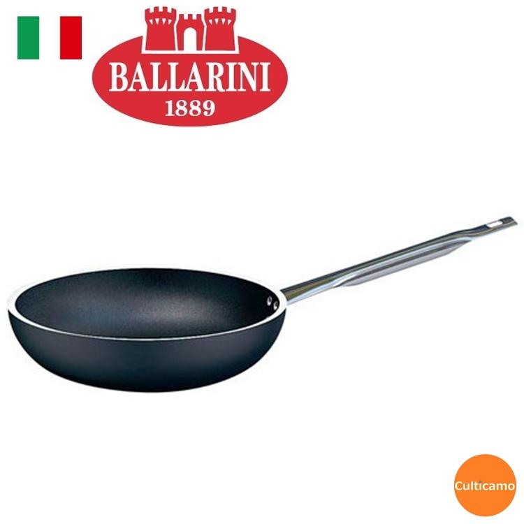 バッラリーニ セリエ6000 プロフライパン 36cm 75001-061 AFL-13[関連:BALLARINI イタリア ブランド 業務用 電磁調理器対応 IH100V・200V対応 フライパン]