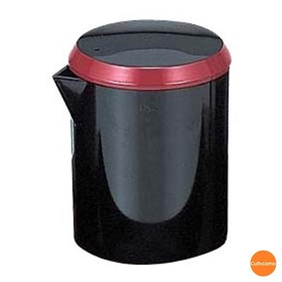 ギフ_包装 割れずに丈夫なABS樹脂製 アクリル 筒型 醤油差し 黒朱帯 RFK-K6 関連:業務用 卓上用品 ソース プラスチック製 和食 新商品!新型 調味料入れ しょう油 カスター