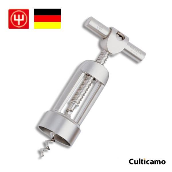 ヴォストフ オートマティック コルクスクリュー ステンレス サテン仕上 3553 PKL-06[関連:WUSTHOF ドイツ ブランド ワイン用品 ワインオープナー コルク抜き]