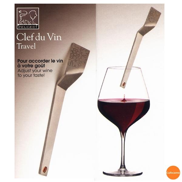 PEUGEOT ワインに浸すだけ 1秒=1年後 10秒=10年後のワインに変身 プジョー 2020新作 クレ デュ ヴァン トラベルモデル 人気商品 ブランド 関連:PEUGEOT 245078 市場 PPK-07 ワイン用品 卓上用品 ギフト フランス