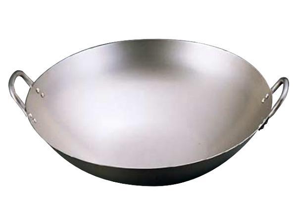 純チタン 中華鍋 36cm ATY-62[関連:業務用 料理道具 中華料理 鍋 チタン製 軽量 両手鍋 中華]