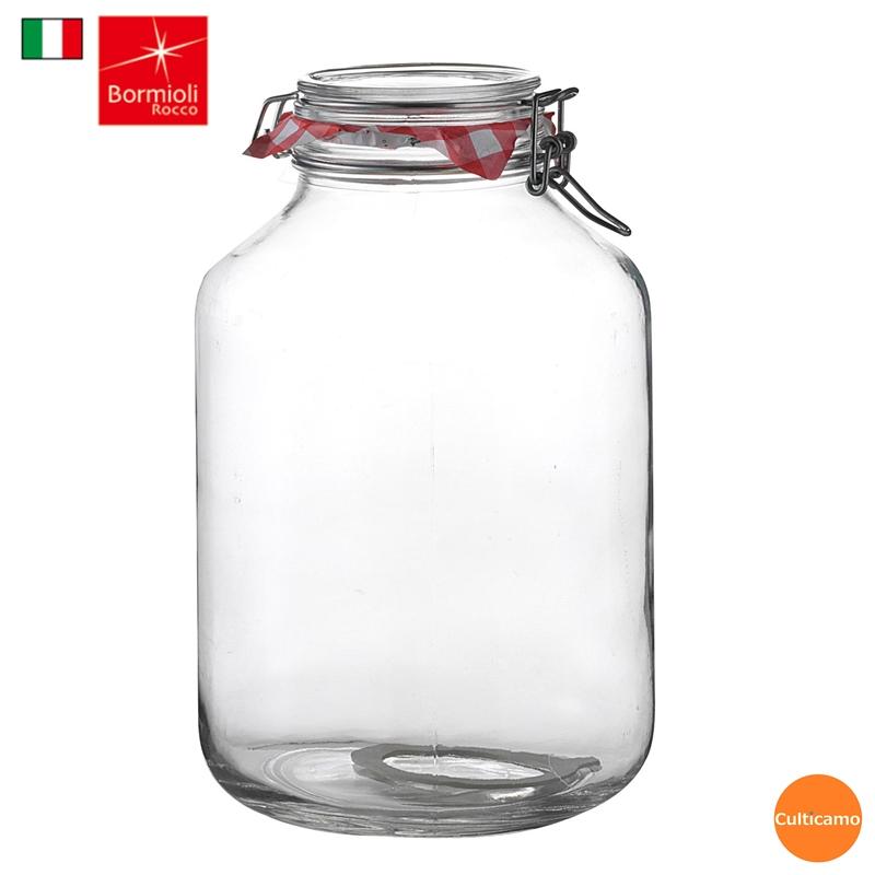 業務用 強力に密閉するガラス製保存容器 ボルミオリ ロッコの Fido シリーズ ロッコ ガラス フィドジャー 1.49270 保存 密封 即出荷 関連:BormioliRocco 人気商品 イタリア製 期間限定特別価格 5L RBR-06 瓶 ビン ブランド