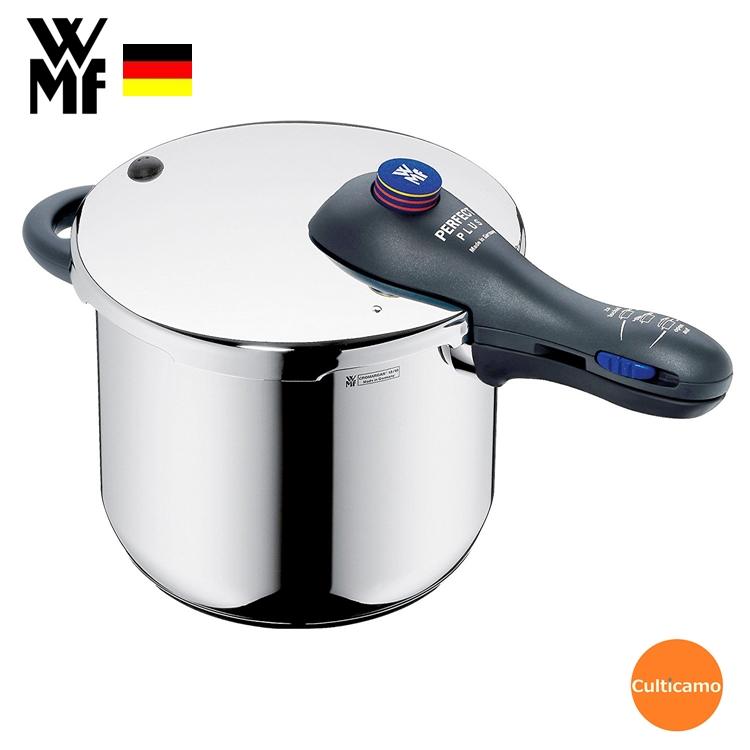 WMF パーフェクトプラス 圧力鍋 018WF 6.5L W793136040 AAT-34[関連:ベーエムエフ ドイツ製 ブランド IH対応 100V・200V対応 圧力なべ]