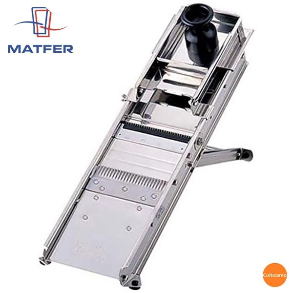 マトファ 18-0 マンドリンカッター 44602 60枚刃 CMV-01[関連:MATFER フランス ブランド 業務用 調理機械 万能調理器 野菜 果物 スライサー]