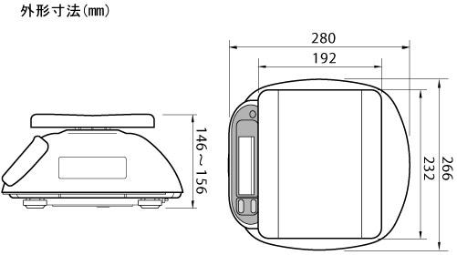 A&D SL-1000WP 1kg BHK-46 [関連:エーアンドディー 業務用  防水 防ジン スケール ハカリ 秤 計り ベーカリー 食品工場] 【送料無料】 防水・防塵デジタルはかり