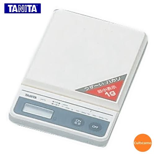 タニタ ポケッタブルスケール ミニスリム NO.1475 1kg BSK-22[関連:TANITA 小型はかり 測定器 ポケットサイズ ミニ デジタルハカリ 秤]
