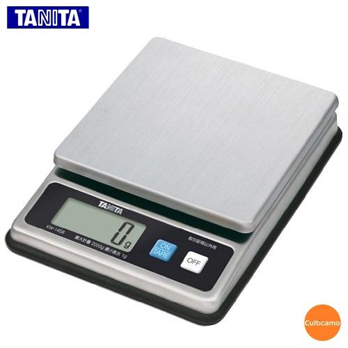 タニタ ステンレス デジタルスケール KW-1458 2kg BHK-B6【送料無料】[関連:TANITA 業務用 計量器 防水 防塵 はかり ハカリ 秤 計り]