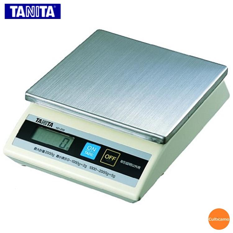 タニタ 卓上スケール KD-200 1kg BHK-47[関連:TANITA 業務用 計量器 人気商品 防滴 デジタル はかり 秤 計り]