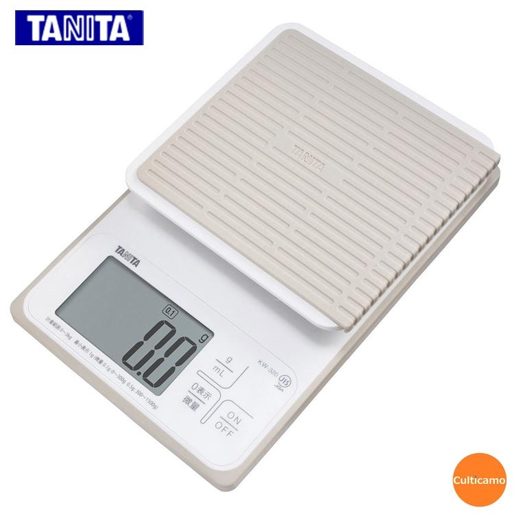 タニタ デジタルクッキングスケール KW-320 ホワイト 3kg BDK-07【送料無料】[関連:TANITA 下ごしらえ用品 お菓子作り 防水 計量器 コンパクト はかり 秤]
