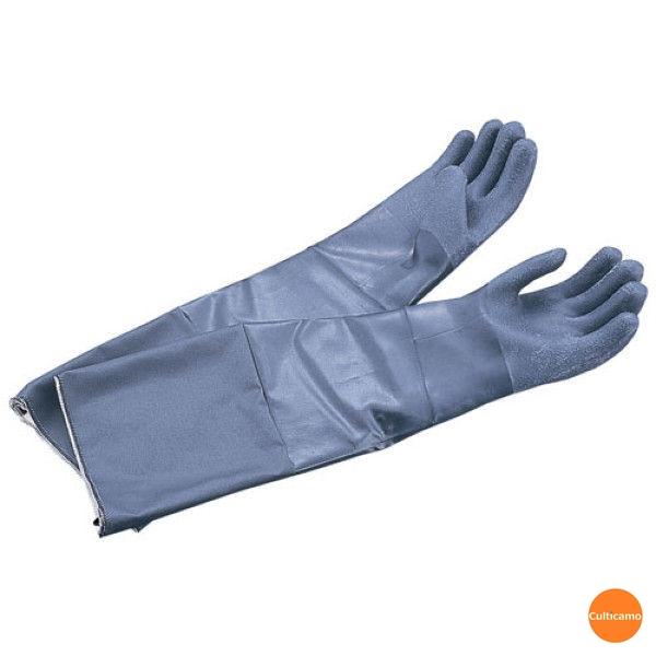 耐熱手袋 スコーピオ ロング 1双 19-026 M 66cm DTB-02[関連:アンセル 業務用 工具 DIY オーブン 手袋 高温 作業用]