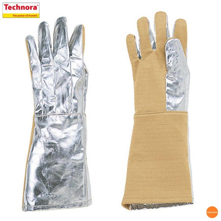 テクノーラ グローブ EGF-35 左右1組 (遮熱性・耐切創性) DMT-03[関連:帝健 業務用 耐熱 作業用 遮熱 耐切創 保護 安全 手袋]