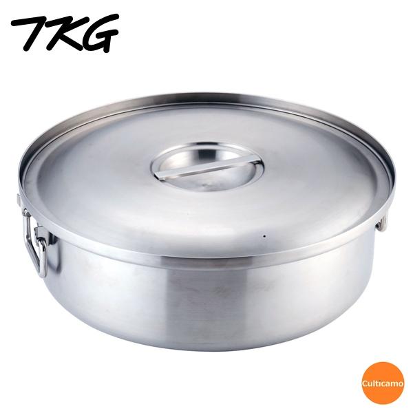 TKG IH 3層クラッド鋼 炊飯鍋(蓋付) DSI-J0【送料無料】[関連:業務用 炊飯器 ご飯鍋 ごはん 電磁調理器対応 IH100V 200V対応]