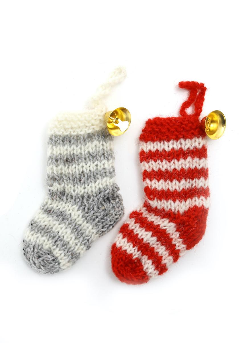 温かみのあるウールフェルトをひとつひとつ心をこめて手作りしたクリスマス オーナメント達 宅配便送料無料 merry ウール100% カラー:その他 ニットソックス 店内限界値引き中 セルフラッピング無料