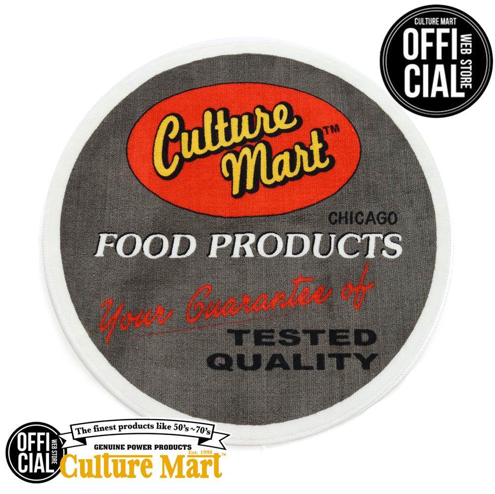 オンラインショッピング CULTURE MART カルチャーマート FLOOR MAT FOOD PRODUCTS フロアマット リビング アメカジ 玄関マット お歳暮 室内 洗える アメリカン おしゃれ かっこいい 汚れ防止