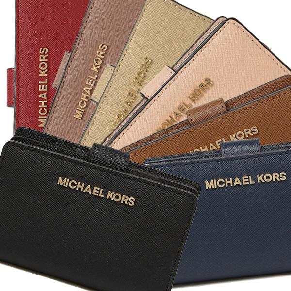 df7e08701f10 Michael Kors wallet outlet MICHAEL KORS 35F7GTVF2L JET SET TRAVEL WALLET  Lady's folio wallet plain fabric ...