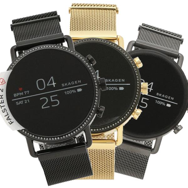 【返品OK】スカーゲン 腕時計 レディース メンズ SKAGEN FALSTER 2 ファルスター ウェアラブル メッシュ 40MM 選べるカラー