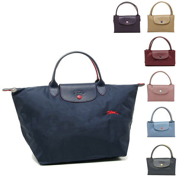 7d1268b4ee0 Longchamp bag LONGCHAMP 1623 619 ルプリアージュ LE PLIAGE CLUB TOP HANDLE M Lady's tote  bag ...