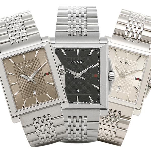 【4時間限定ポイント10倍】グッチ 腕時計 メンズ Gタイムレス GUCCI Gタイムレス G-TIMELESS レクタングル