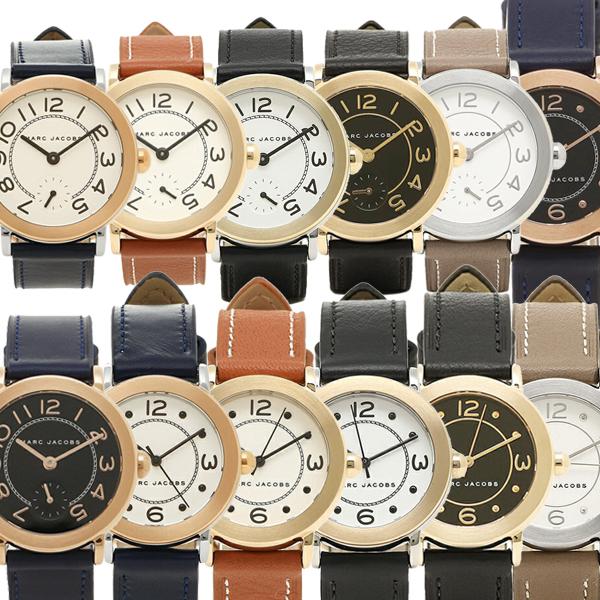 【4時間限定ポイント10倍】マークジェイコブス 腕時計 MARC JACOBS RILEY 36MM 28MM ライリー レザー ペアウォッチ ユニセックス レディース腕時計ウォッチ 選べるカラー