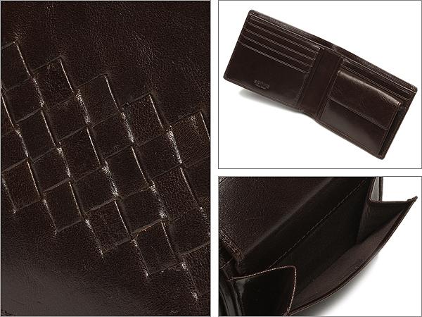 존네 지갑 SONNE SOJ003 CHOCOLATE 인 트레이닝 차트 반접기 지갑 초콜릿