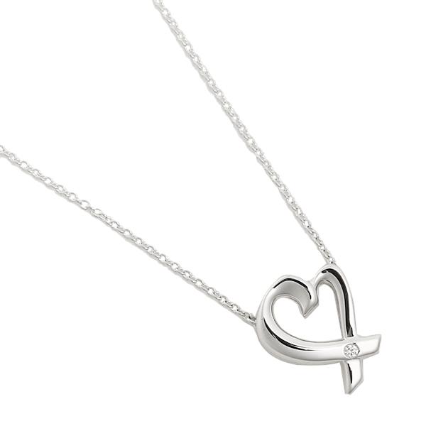 ティファニー ペンダント TIFFANY&Co. 25604296 スモール ラビングハートダイヤモンド LOVING HEART DIAMOND ネックレス アクセサリー シルバー