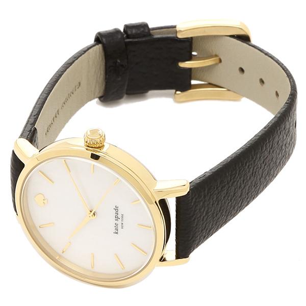 케이트 스페이드 손목시계 KATE SPADE 1 YRU0010 레이디스 블랙 골드