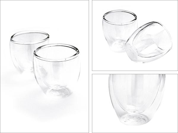 ボダム bodum ボダム 글라스 bodum, 557-10US PAVINA パヴィーナダブルウォールグラス 2 개 세트 Glass double wall extra small 0.08 L 2.5 oz USA 80cc 클리어 메이크업 박스