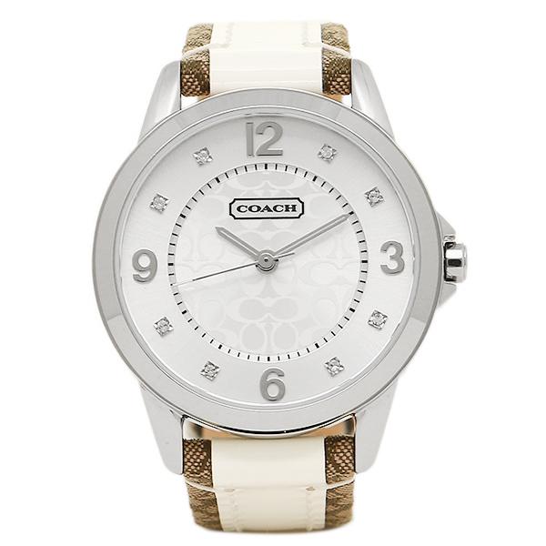 【返品OK】コーチ 腕時計 レディース COACH 14501619 クラシックNEW CLASSIC SIGNATURE ニュークラシックシグネチャー 時計/ウォッチ シルバー