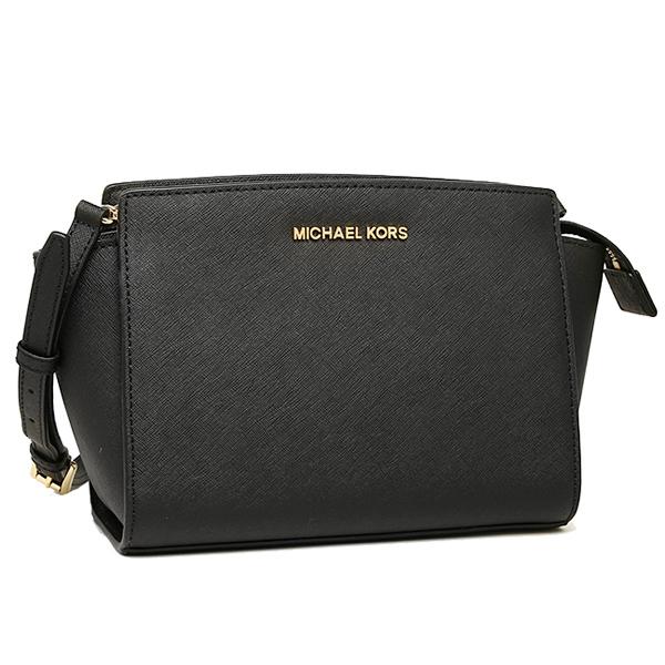 Michael Kors bag MICHAEL KORS 30T3GLMM2L 001 SELMA MD MESSENGER shoulder bag  BLACK
