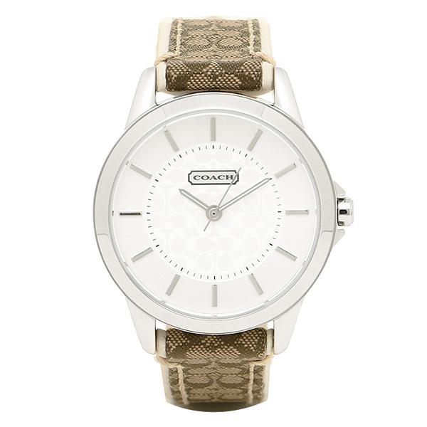 コーチ 時計 レディース COACH 14501526 クラシックシグネチャー 腕時計 ウォッチ シルバー
