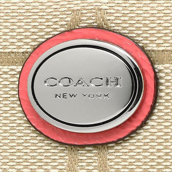 코치 지갑 COACH F51339 SIGCO 데이지시그네챠후로랄장 지갑 라이트카키/산호초.